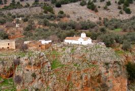 Αράδαινα, η εκκλησία του Αρχάγγελου