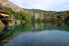 Ζαρός, η λίμνη Βοτόμος