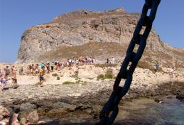 Ο βράχος της Γραμβούσας