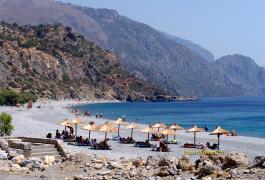 Σούγια, η παραλία